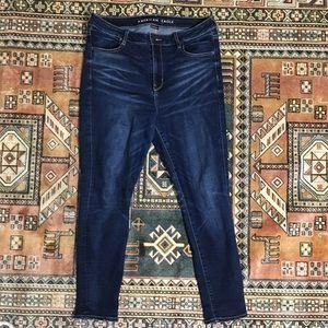 American eagle high-rise jegging jeans 14 short